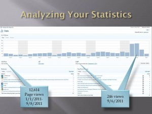 Analyzing Your Statistics