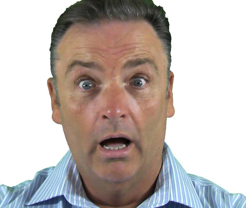 Surprised man image, public domain image from pixabay.com