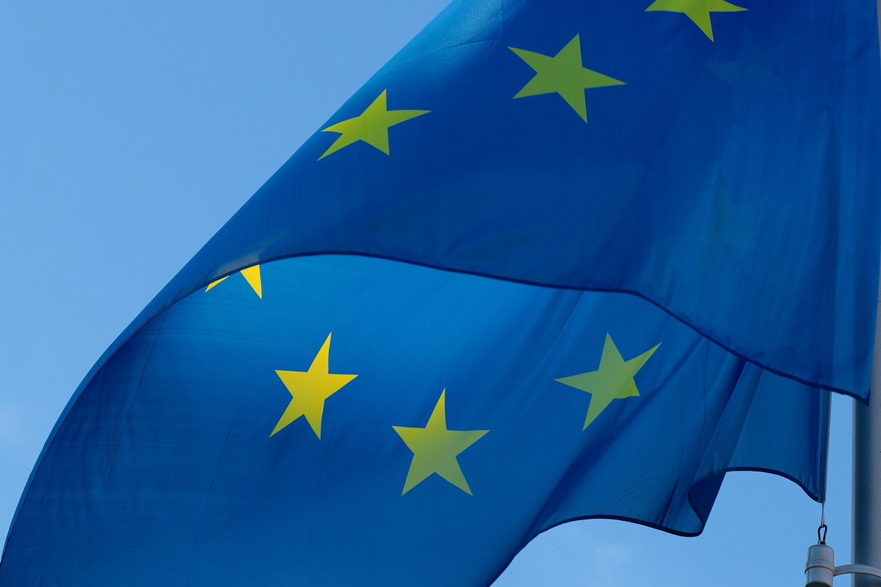 European Union flag, CC0 Creative Commons image from pixabay.com